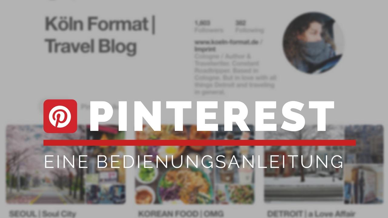 Eine Bedienungsanleitung Fur Pinterest Die Besten Tipps