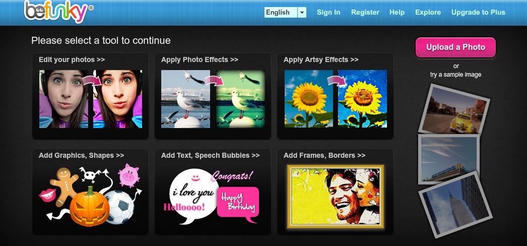 Alternativen zum Bildbearbeitungsprogramm Picnik