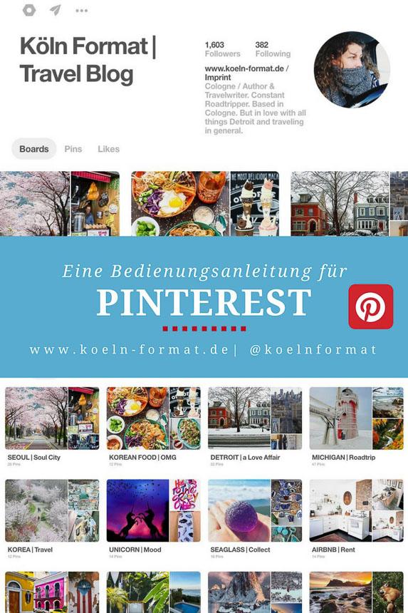 Eine Bedienungsanleitung für Pinterest