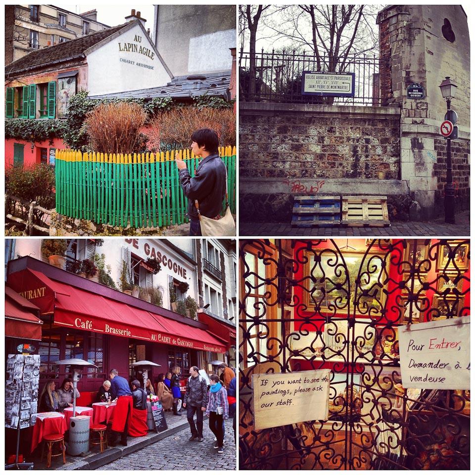 Place du Tertre in Montmartre Paris