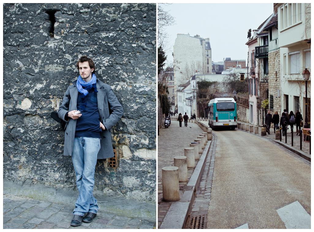 unterwegs in Montmartre