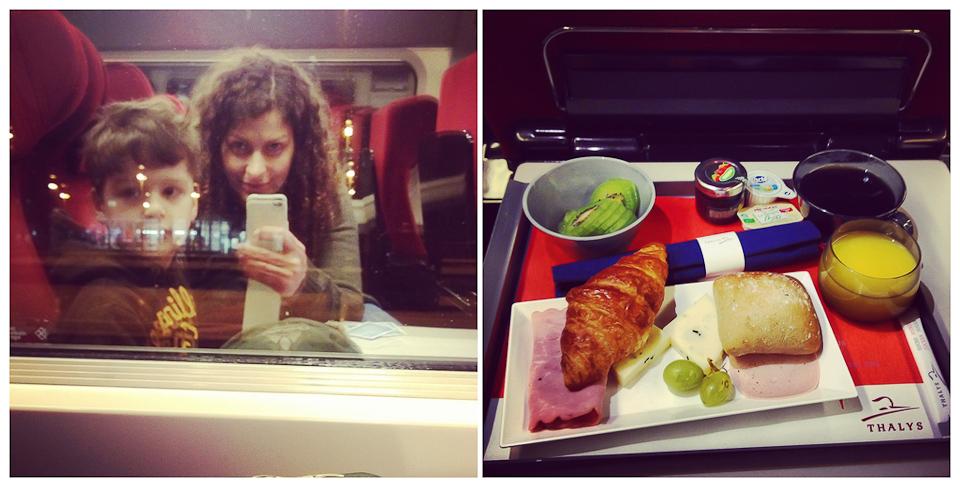 im Thalys von Köln nach Paris - Comfort 1