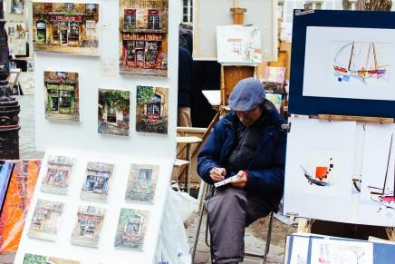 Die Künstler vom Place du Tertre – Ein Streifzug durch Montmartre