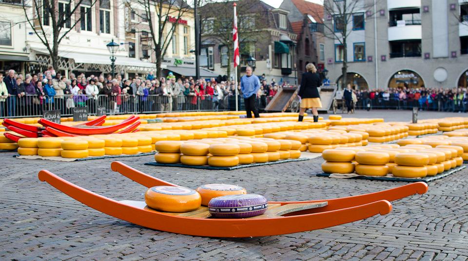 Der Alkmaar Käsemarkt