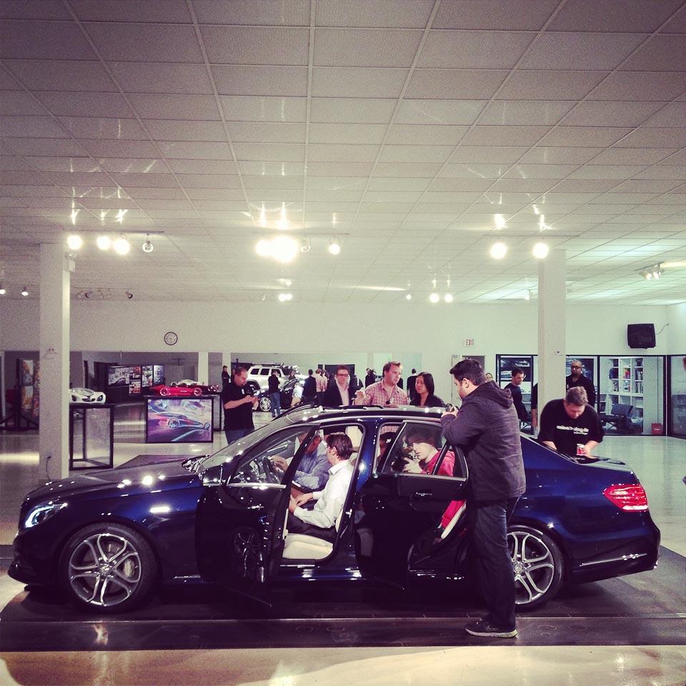 Eine fototour durch das mercedes benz advanced design for Mercedes benz training center