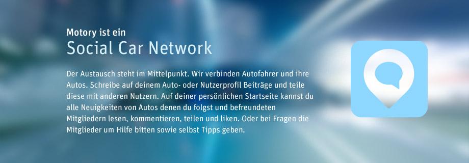 Social Car Network Motory