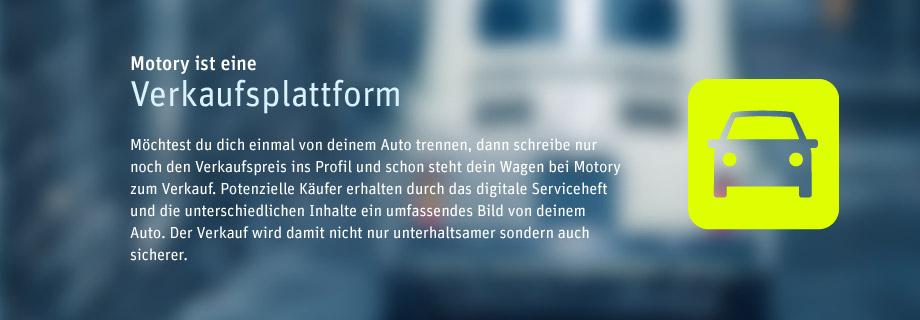 Motory - eine Verkaufsplattform