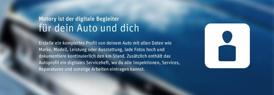 Motory - digitales Netzwerk für Autos