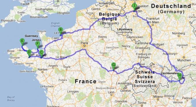 Reisebericht: Bretagne / Normandie mit dem