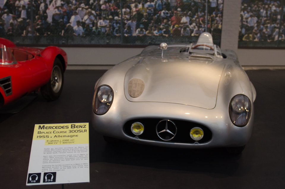 Die Kollektion im Schlumpf Museum - Mercedes-Benz 300SLR
