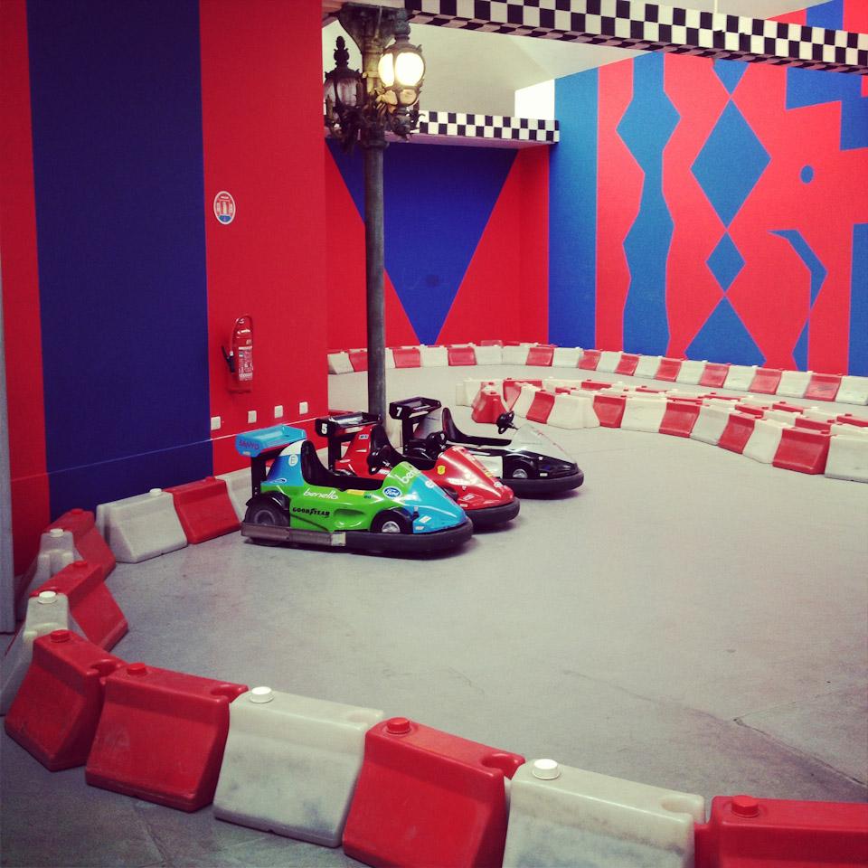 Kinderspielecke Schlumpf Museum