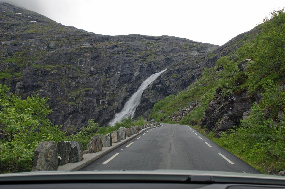 Abfahrt Trollstigen