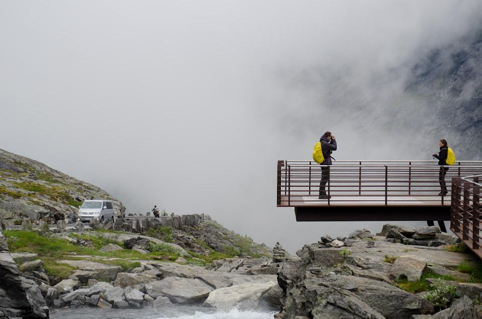 Aussichtspunkt Trollstigen Norwegen