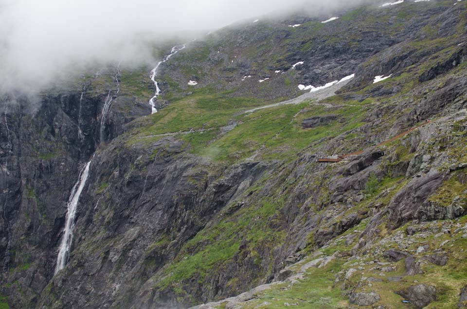 Wasserfälle am Trollstigen