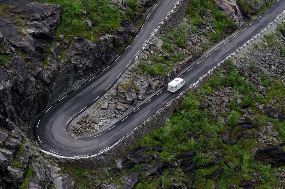 Trollstigen Norwegen Wohnmobil