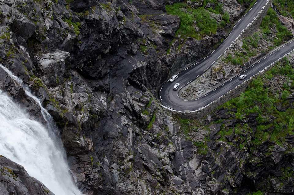 Haarnadelkurve Trollstigen