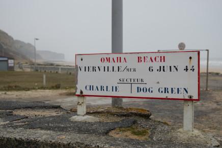 Omaha Beach in der Normandie – 69 Jahre nach dem D-Day