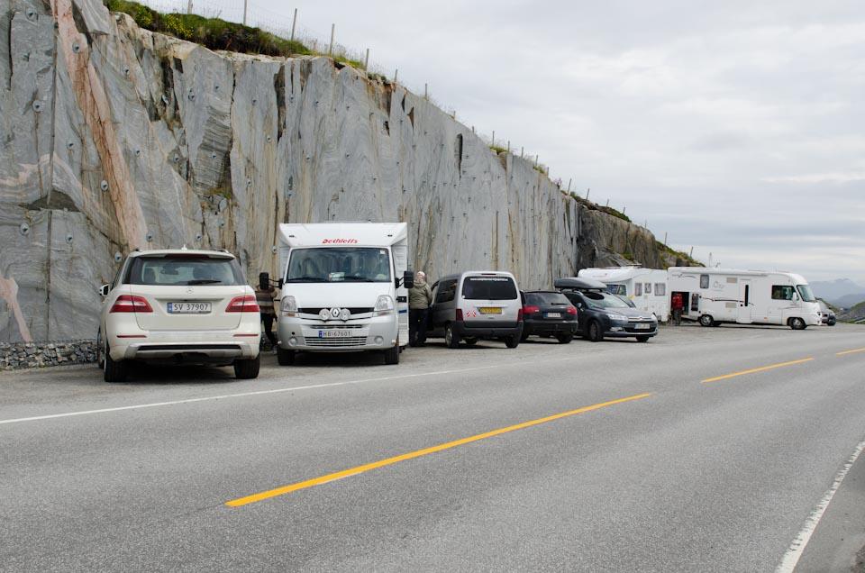 die Atlantikstraße in Norwegen zählt zu den schönsten Straßen der Welt