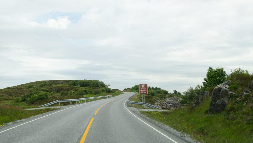 Auf dem Weg zur Atlantikstraße in Norwegen
