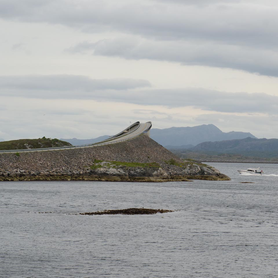 Atlantikstraße Norwegen Nationale Touristenstraße