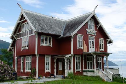 Die Drachenhäuser von Balestrand Norwegen – der Sognefjord