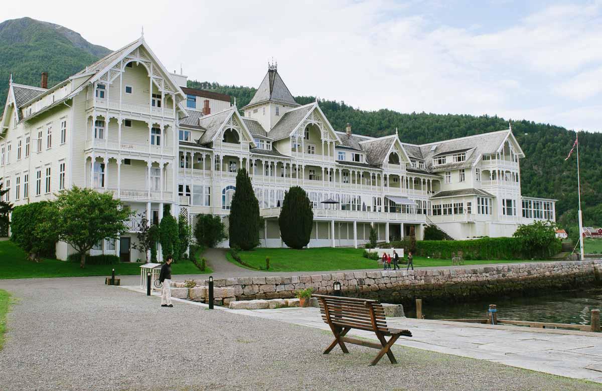 Hotel Kviknes Balestrand in Norwegen