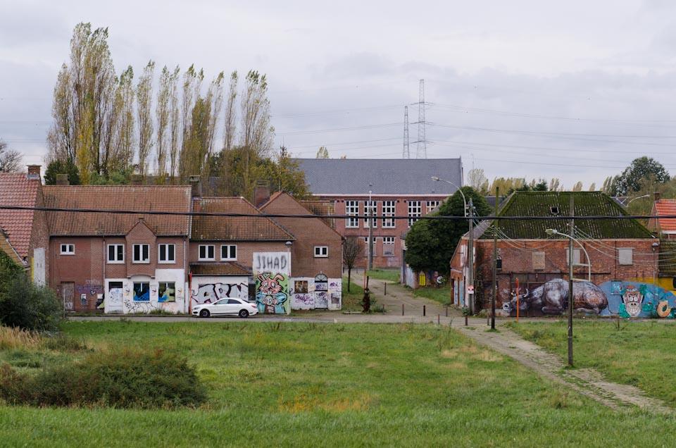Das Geisterdorf Doel in Belgien