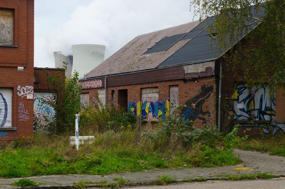 Kernkraftwerk in Doel, Belgien