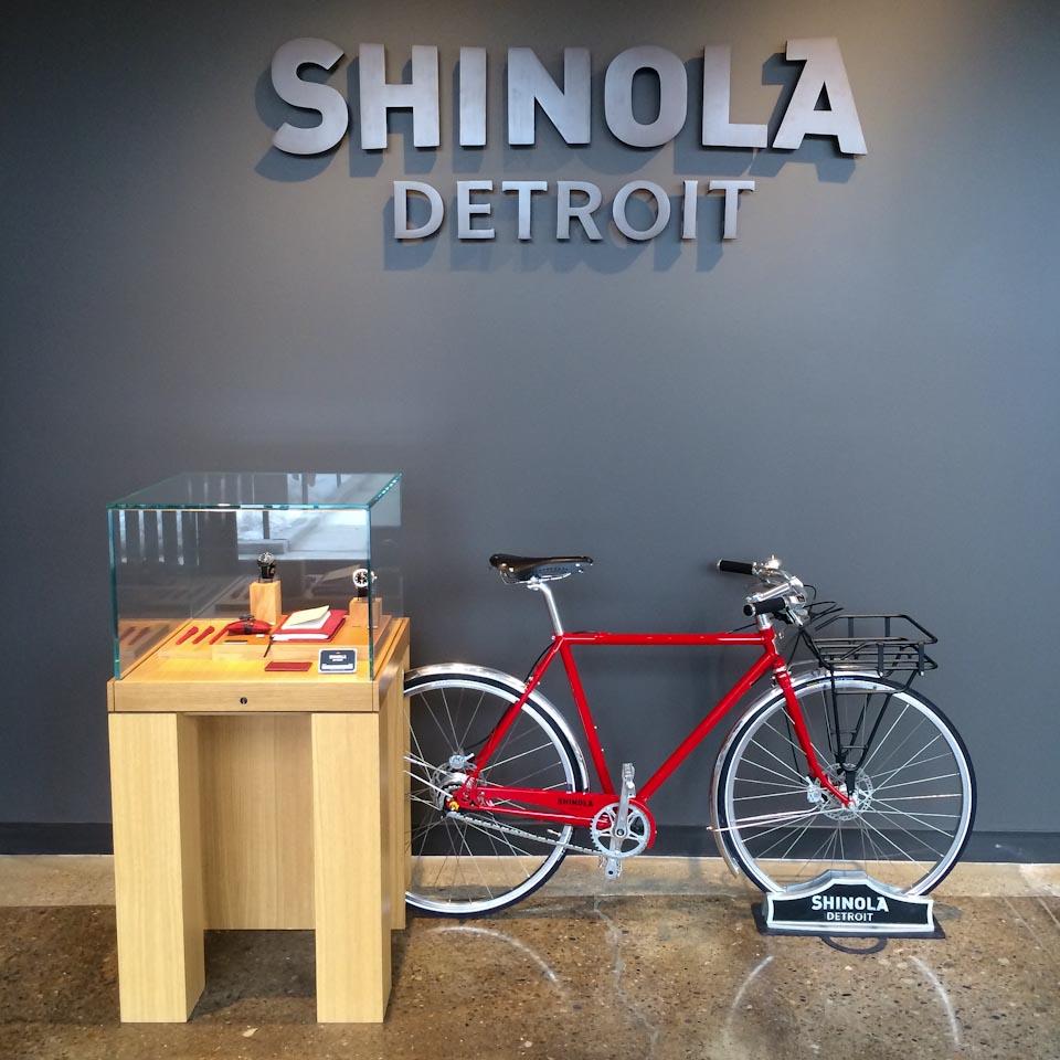 Shinola Bikes Detroit