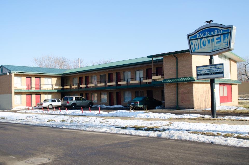 Packard Motel Detroit