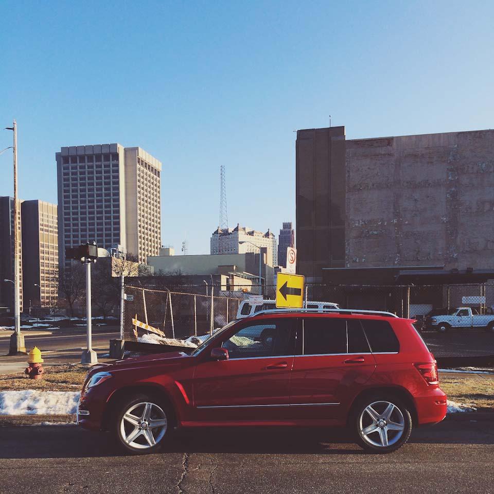 GLK in Detroit