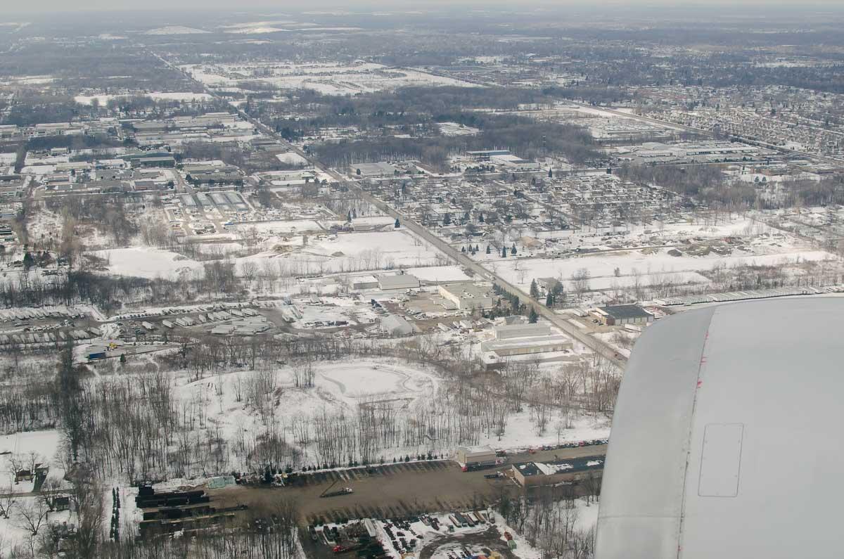 Detroit Einreise USA