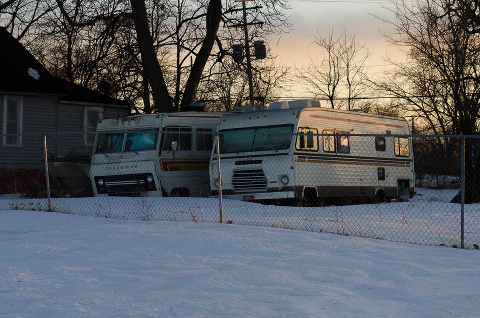Wetter Detroit Arschkalt winter