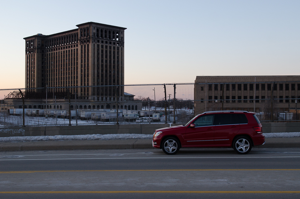Detroit Michigan Central Station Mercedes-Benz GLK