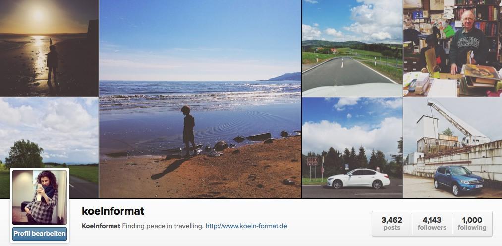 Koelnformat Instagram