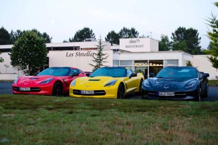 Roadtrip Baby: In der neuen Corvette C7 nach Le Mans!
