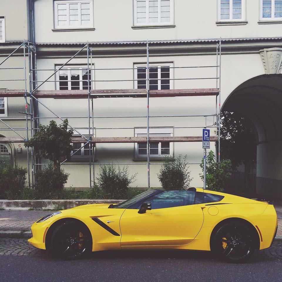Corvette C7 soloparking