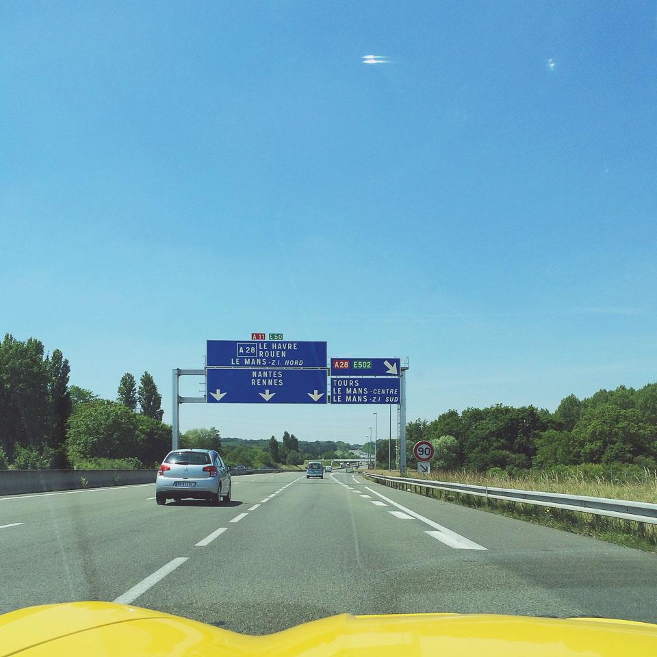Le Mans wir kommen! In der C7 zum 24h Rennen