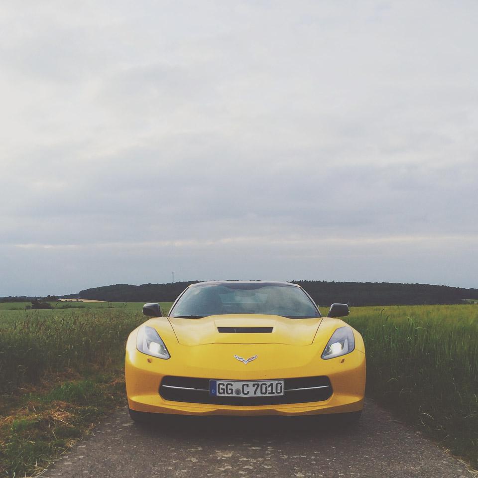 ein Autotraum - die Corvette C7