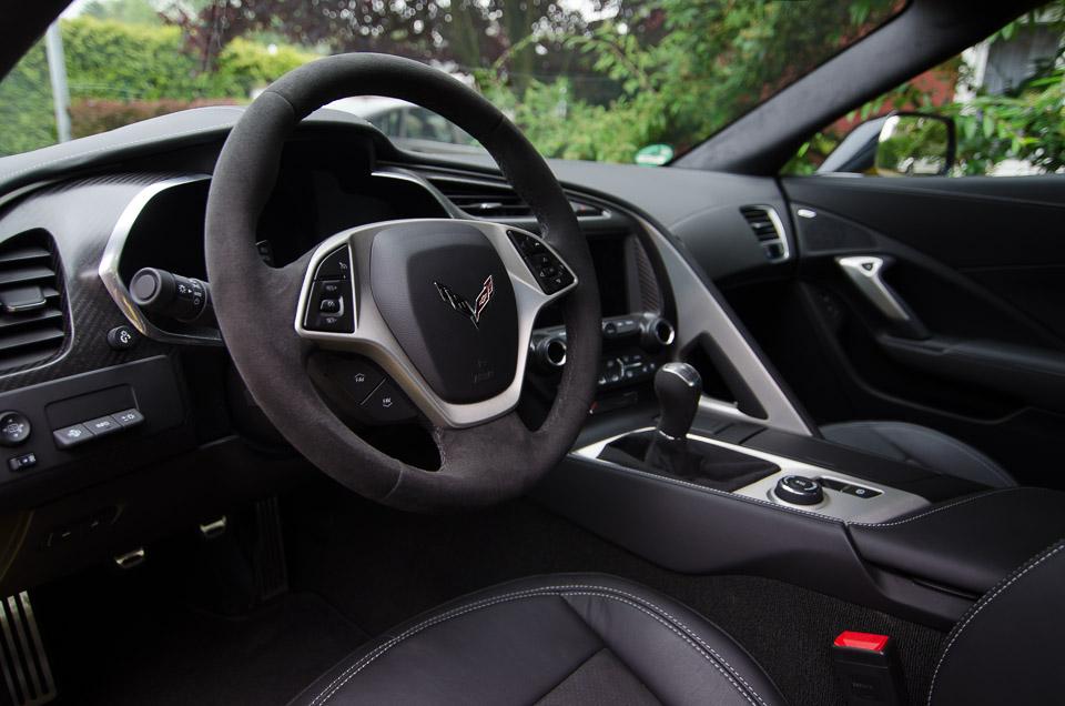 Interior Corvette C7