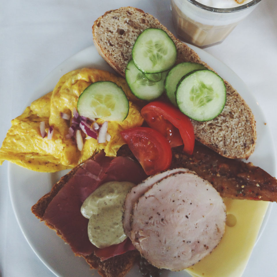 bestes Frühstück Norwegens