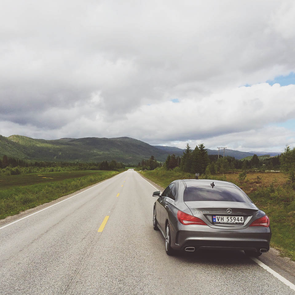 Mercedes-Benz CLA Roadtrip