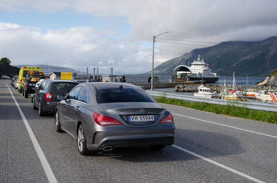 Fähre fahren in Norwegen
