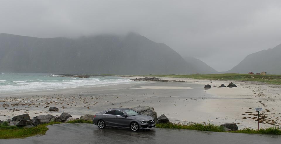 Strand in Norwegen Roadtrip Reisebericht