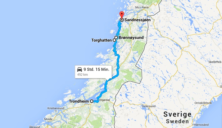 Roadtrip Norwegen Etappe 1