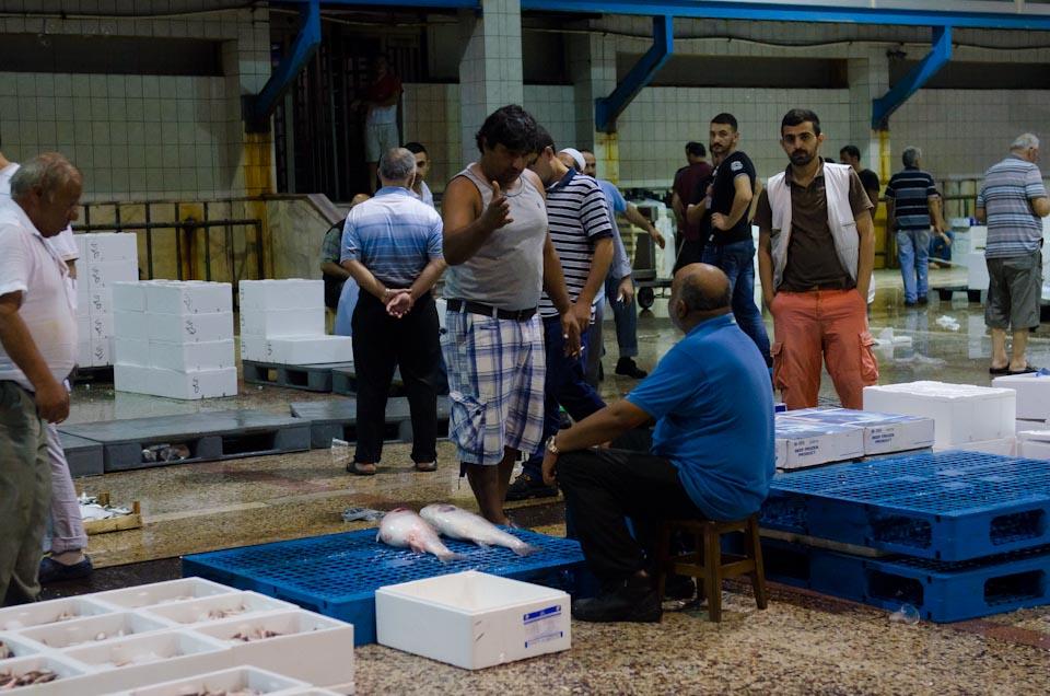 Fischmarkt in Istanbul