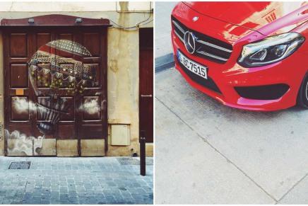 Köln Format fährt: die neue B-Klasse von Mercedes-Benz auf Mallorca