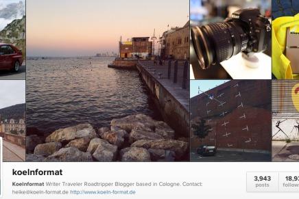Vier Jahre Instagram oder eine Bilanz nach 3945 Fotos