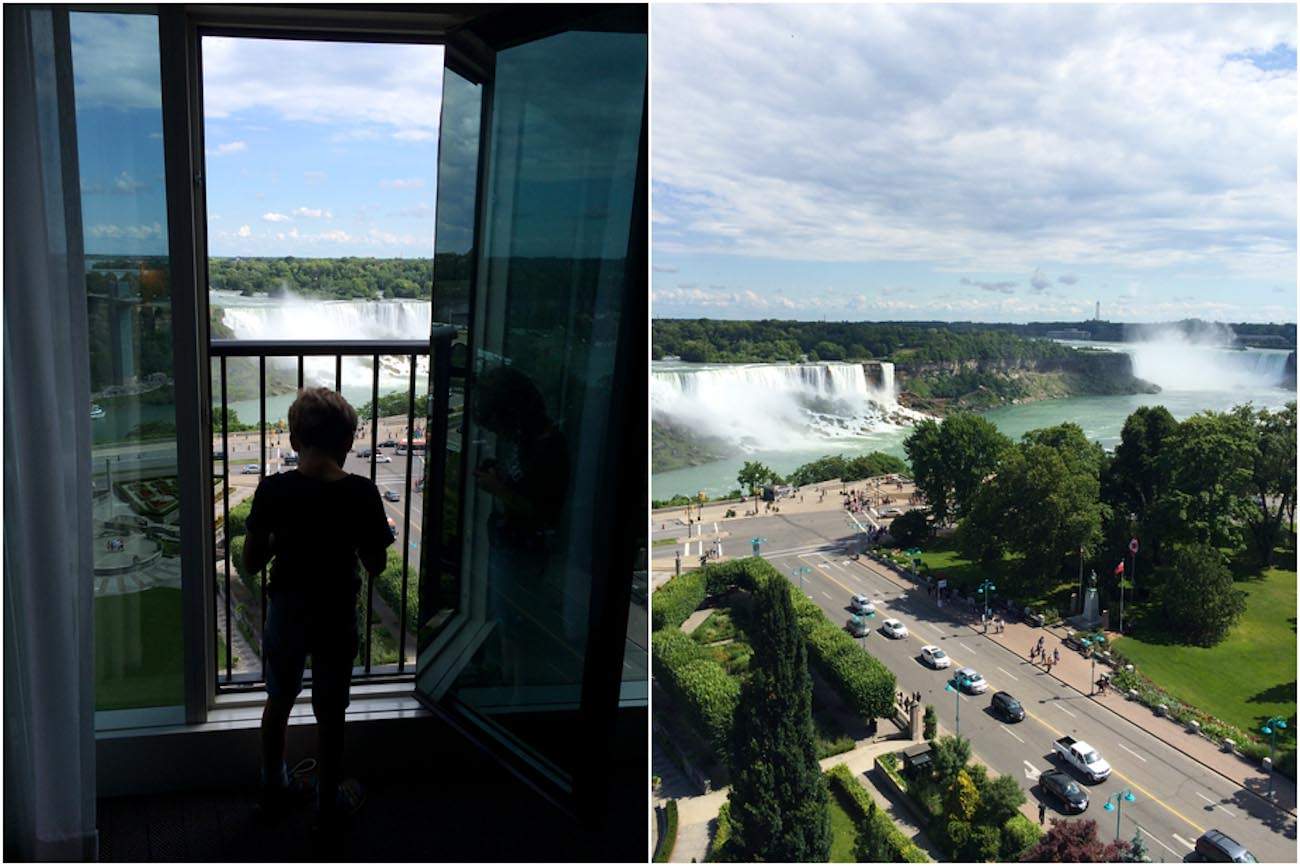 Sheraton on the Falls Niagara Falls Niagarafälle mit Kindern