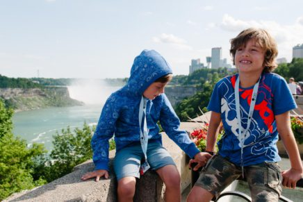 Niagarafälle mit Kindern – mit dem Auto aus den USA nach Kanada